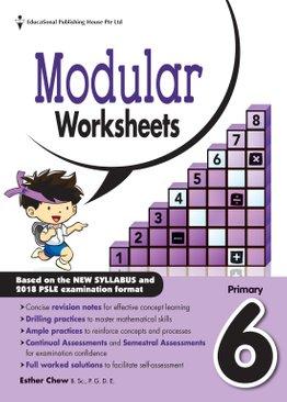 Maths Modular Worksheets 6 (New Syllabus)