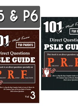 P5/6. 101 Must-Know PRF Questions Vol 3 + 4 (Quick Starter Kit)