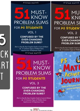 P5. 51 Must-Know Sums Volume 1, 2 and 3 + Math Activity Journal (Quick Starter Kit)