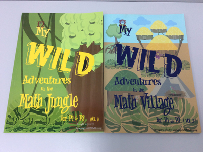 P1-3. Math Jungle Volume 1 and 2 (Quick Starter Kit)