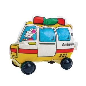 Party Gift / Play N Learn Colorloon / Colour and Inflate/ 3D Vehicle DIY Kit - Ambulance  ( 10 PCS )
