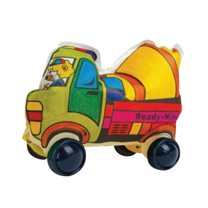 Party Gift / Play N Learn Colorloon / Colour and Inflate/ 3D Vehicle DIY Kit - Ready-Mixed Truck (10 PCS )