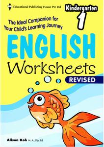 English Worksheets - K1