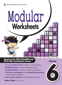 Maths Modular Worksheets 6 (New Syllabus)