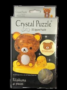 3D Crystal Puzzle Rilakkuma