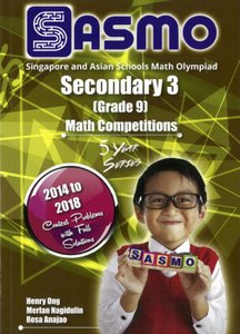 Singapore & Asian Schools Maths Olympiad Sec 3 (2014-2018)