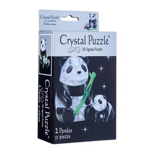 3D Crystal Puzzle Panda & Baby
