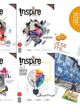 """INSPIRE"" 5 ISSUES 19-23"