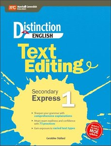 Distinction in English: Text Editing Sec 1 Express