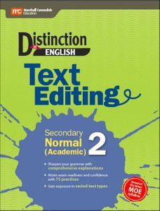 Distinction in English: Text Editing Secondary Normal (Academic) 2