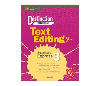 Distinction in English: Text Editing Sec 3 Express