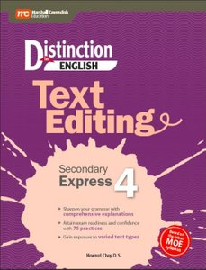 Distinction in English: Text Editing Secondary Express 4