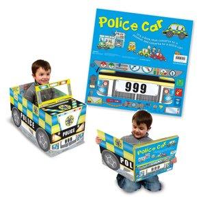 Convertible Police Car