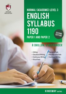 NA Level English Syllabus 1190 P1 & P2 for Sec 3 (2nd Ed)