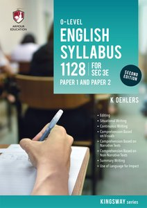 'O' Level English Syllabus 1128 P1 & P2 for Sec 3E (2nd Ed)