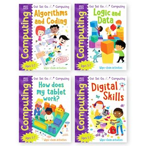 Get Set Go Computing (Set of 4)