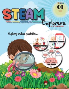 STEAM Magazine: STEAM Explorer Subscription 2020- 6 issues
