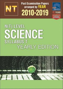 N(T)-Level Science Syllabus T Yearly Edition 2010-2019 + Answers