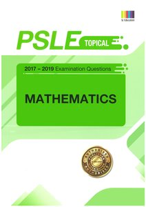 PSLE MATHEMATICS (TOPICAL) QNS + ANS 2017 - 2019