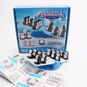 Board Game Math Skills Play N Learn Balance Penguin Fun Learning Game
