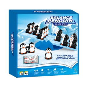 Play N Learn Mathematics Balance Penguin Board Game