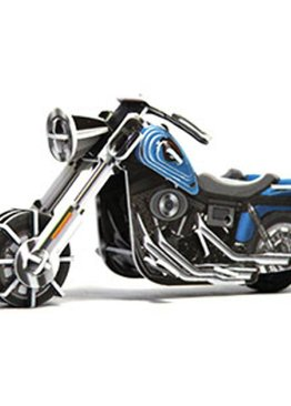 Jigsaw Puzzle Play N Learn 3D Wind-Up MotorBike Wide G Educational Party Gift