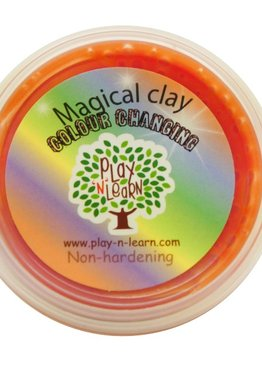 Putty Imaginative Play N Learn Party Gift Magical Clay Colour Changing Orange