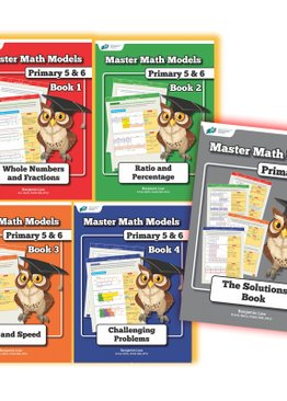 Mastering Math Models 5-book Bundle