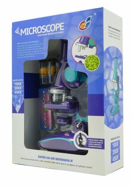 Educational Toy Microscope For Children Play N Learn Fun Learning ( Random Colour )