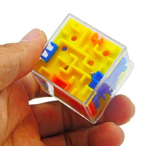 Play N Learn 3D Cube Maze ( 2 in 1 )