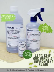 Hande Premium Disinfectant Sanitizer