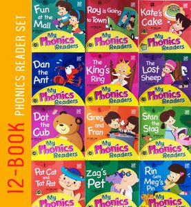 My Phonics Readers Set (12 books) 2020