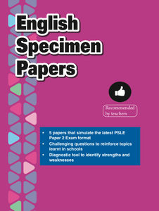 Primary 6 English Specimen Papers