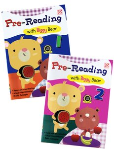 Pre-Reading with Biggy Bear Book 1& 2