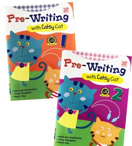 Pre-Writing with Catsy Cat Book 1&2