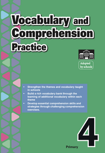 Primary 4 English Vocabulary and Comprehension Practice