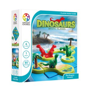 SmartGames - Dinosaurs – Mystic Islands