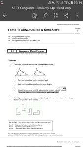 Exam Buddy Elementary Mathematics Sec 2 (2020 Edition) Topic 1: Congruence & Similarity