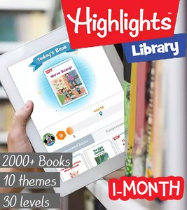 Highlights Library (2000 stories) - 1 month