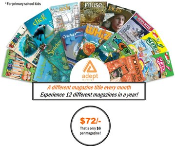 MAGAZINES SAMPLER PACK SUBSCRIPTION - 12 ISSUES