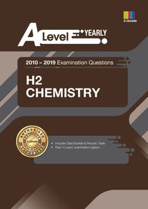 A Level H2 Chemistry (Yearly) Qn + Ans 2010-2019