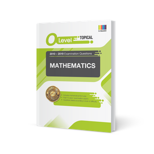 O Level Mathematics (Topical) Qn + Ans 2010-2019