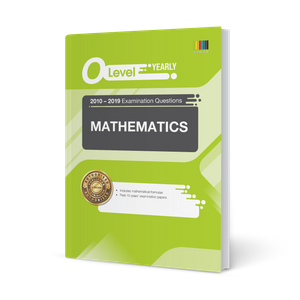 O Level Mathematics (Yearly) Qn + Ans 2010-2019