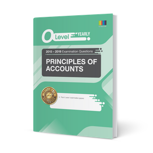 O Level Principles of Accounts (Yearly) Qn + Ans 2015-2019