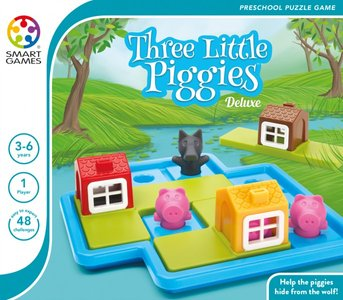 SmartGames Three Little Piggies XL