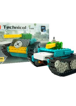 STEM Educational Toy Play N Learn  DIY Battery Operated Technical Tank