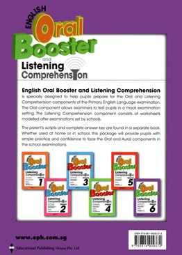 English Oral Booster & Listening Comprehension Package 6 (revised)