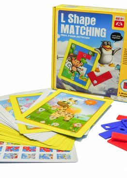 Board Game Math Skills Play N Learn L Shape Matching Fun Learning Game