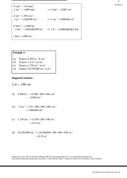 Exam Buddy Elementary Mathematics Sec 2 (2020 Edition) Topic 8: Volumes & Surface Areas of Pyramids, Cones & Spheres