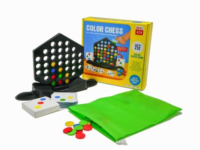 Play N Learn Colour Chess Strategic Family Board Game